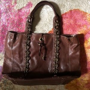 Handbags - JCrew Leather Tote SOLD SOLD SOLD